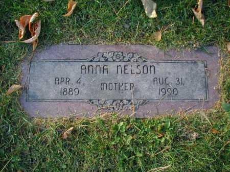 NELSON, ANNA - Douglas County, Nebraska | ANNA NELSON - Nebraska Gravestone Photos