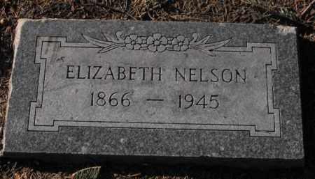 NELSON, ELIZABETH - Douglas County, Nebraska | ELIZABETH NELSON - Nebraska Gravestone Photos