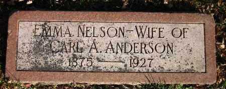 NELSON, EMMA - Douglas County, Nebraska | EMMA NELSON - Nebraska Gravestone Photos