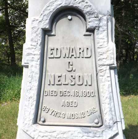 NELSON, EDWARD C. (CLOSE UP) - Douglas County, Nebraska   EDWARD C. (CLOSE UP) NELSON - Nebraska Gravestone Photos