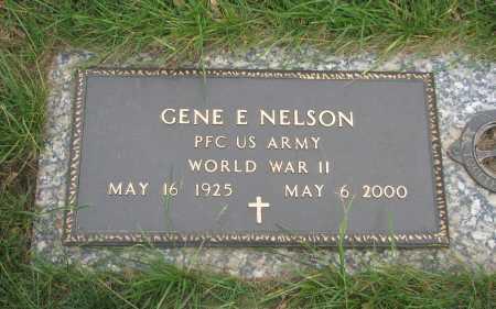 NELSON, GENE ELERT - Douglas County, Nebraska | GENE ELERT NELSON - Nebraska Gravestone Photos