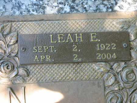 NELSON, LEAH E - Douglas County, Nebraska | LEAH E NELSON - Nebraska Gravestone Photos
