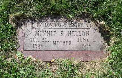 NELSON, MINNIE K. - Douglas County, Nebraska | MINNIE K. NELSON - Nebraska Gravestone Photos