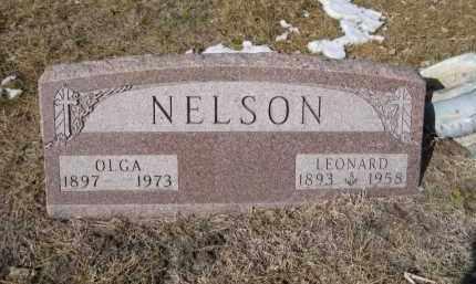 NELSON, LEONARD - Douglas County, Nebraska | LEONARD NELSON - Nebraska Gravestone Photos