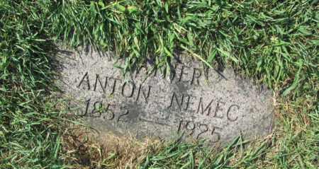 NEMEC, ANTON - Douglas County, Nebraska | ANTON NEMEC - Nebraska Gravestone Photos