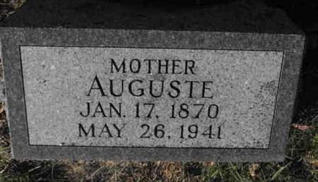 NEUHAUS, AUGUSTE - Douglas County, Nebraska   AUGUSTE NEUHAUS - Nebraska Gravestone Photos