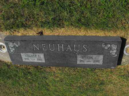 NEUHAUS, AUGUST - Douglas County, Nebraska   AUGUST NEUHAUS - Nebraska Gravestone Photos