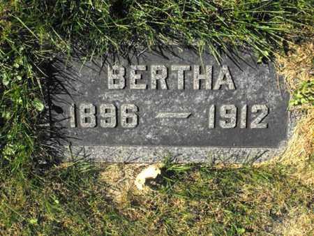 NEUHAUS, BERTHA - Douglas County, Nebraska | BERTHA NEUHAUS - Nebraska Gravestone Photos