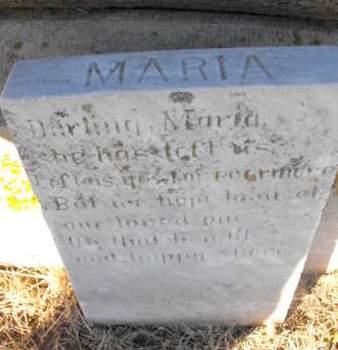 NEUHAUS, MARIA - Douglas County, Nebraska | MARIA NEUHAUS - Nebraska Gravestone Photos