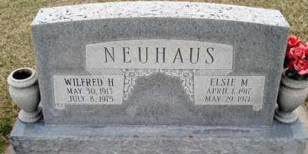 NEUHAUS, WILFRED H - Douglas County, Nebraska | WILFRED H NEUHAUS - Nebraska Gravestone Photos