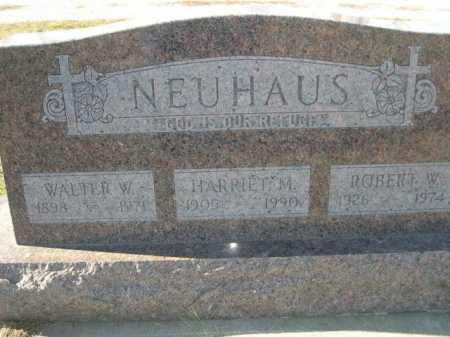 NEUHAUS, WALTER W. - Douglas County, Nebraska | WALTER W. NEUHAUS - Nebraska Gravestone Photos