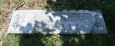 NEWELL, VIDA B - Douglas County, Nebraska | VIDA B NEWELL - Nebraska Gravestone Photos