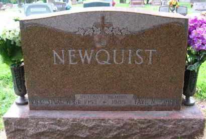 NEWQUIST, FAYE N. - Douglas County, Nebraska | FAYE N. NEWQUIST - Nebraska Gravestone Photos