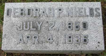 NIELDS, DEBORAH P. - Douglas County, Nebraska   DEBORAH P. NIELDS - Nebraska Gravestone Photos