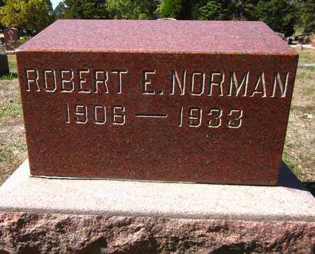 NORMAN, ROBERT E - Douglas County, Nebraska | ROBERT E NORMAN - Nebraska Gravestone Photos