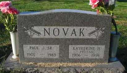 NOVAK, SR., PAUL J. - Douglas County, Nebraska | PAUL J. NOVAK, SR. - Nebraska Gravestone Photos