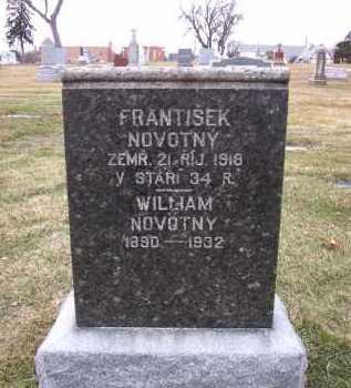 NOVOTNY, FRANTISEK - Douglas County, Nebraska | FRANTISEK NOVOTNY - Nebraska Gravestone Photos