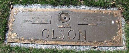 OLSON, CARL E. - Douglas County, Nebraska | CARL E. OLSON - Nebraska Gravestone Photos
