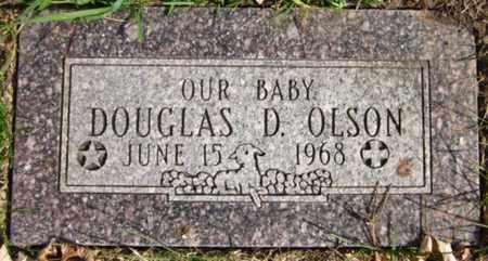 OLSON, DOUGLAS D. - Douglas County, Nebraska | DOUGLAS D. OLSON - Nebraska Gravestone Photos