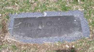 OLSON, IDA B. - Douglas County, Nebraska | IDA B. OLSON - Nebraska Gravestone Photos