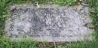 OLSON, LENA VON STEIN - Douglas County, Nebraska | LENA VON STEIN OLSON - Nebraska Gravestone Photos