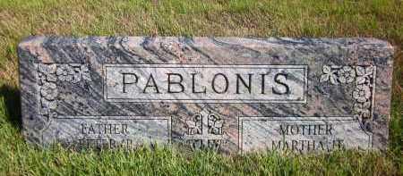PABLONIS, PETER - Douglas County, Nebraska   PETER PABLONIS - Nebraska Gravestone Photos