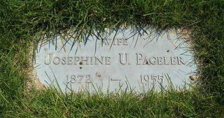 PAGELER, EUNICE JOSEPHINE - Douglas County, Nebraska | EUNICE JOSEPHINE PAGELER - Nebraska Gravestone Photos