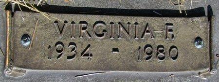 PATERA, VIRGINIA FRANCES (CLOSE UP) - Douglas County, Nebraska | VIRGINIA FRANCES (CLOSE UP) PATERA - Nebraska Gravestone Photos