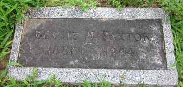PAXTON, BESSIE M. - Douglas County, Nebraska   BESSIE M. PAXTON - Nebraska Gravestone Photos