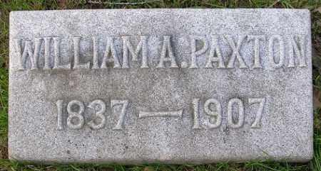 PAXTON, WILLIAM A., SR. - Douglas County, Nebraska | WILLIAM A., SR. PAXTON - Nebraska Gravestone Photos