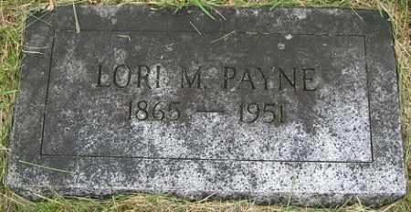 PAYNE, LORI M. - Douglas County, Nebraska | LORI M. PAYNE - Nebraska Gravestone Photos