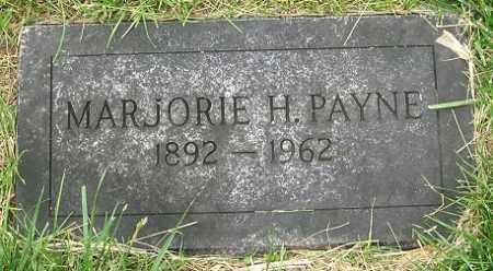 PAYNE, MARJORIE H. - Douglas County, Nebraska | MARJORIE H. PAYNE - Nebraska Gravestone Photos