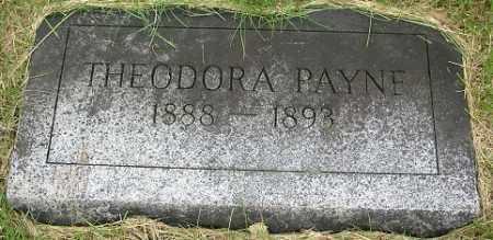 PAYNE, THEODORA - Douglas County, Nebraska | THEODORA PAYNE - Nebraska Gravestone Photos