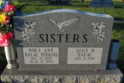 HALAC PERKINS, NORA ANN - Douglas County, Nebraska | NORA ANN HALAC PERKINS - Nebraska Gravestone Photos