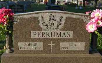 PERKUMAS, SOPHIE - Douglas County, Nebraska | SOPHIE PERKUMAS - Nebraska Gravestone Photos
