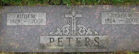 PETERS, RUTH M. - Douglas County, Nebraska | RUTH M. PETERS - Nebraska Gravestone Photos