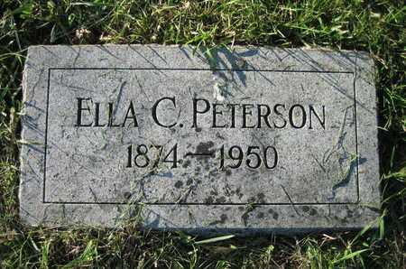 PETERSON, ELLA C - Douglas County, Nebraska | ELLA C PETERSON - Nebraska Gravestone Photos