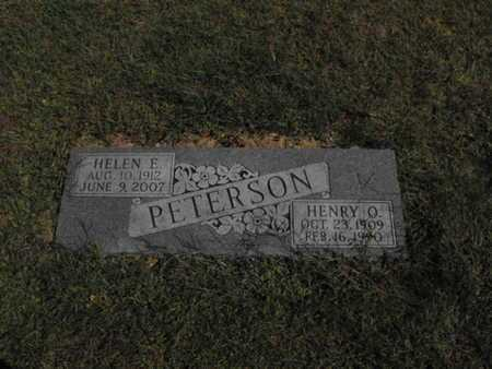 PETERSON, HENRY - Douglas County, Nebraska | HENRY PETERSON - Nebraska Gravestone Photos