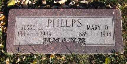 PHELPS, MARY O. - Douglas County, Nebraska | MARY O. PHELPS - Nebraska Gravestone Photos