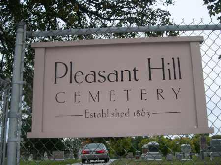 *PLEASANT HILL CEMETERY, SIGN FOR - Douglas County, Nebraska | SIGN FOR *PLEASANT HILL CEMETERY - Nebraska Gravestone Photos