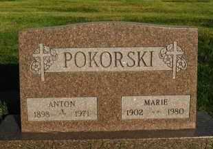 POKORSKI, MARIE - Douglas County, Nebraska | MARIE POKORSKI - Nebraska Gravestone Photos