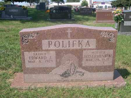 POLIFKA, EDWARD J. - Douglas County, Nebraska   EDWARD J. POLIFKA - Nebraska Gravestone Photos