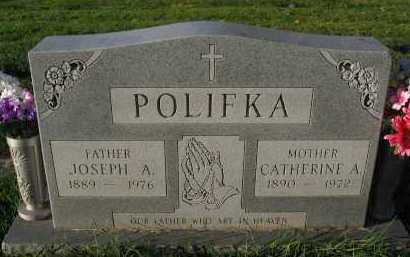 POLIFKA, JOSEPH A. - Douglas County, Nebraska | JOSEPH A. POLIFKA - Nebraska Gravestone Photos