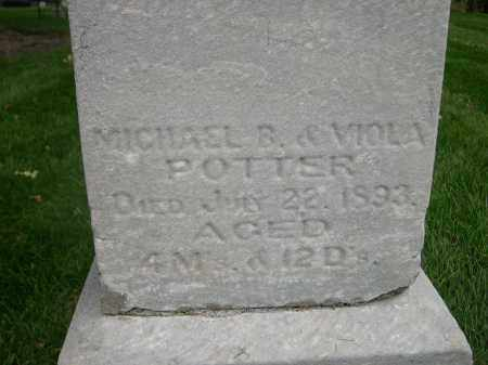 POTTER, MICHAEL - Douglas County, Nebraska | MICHAEL POTTER - Nebraska Gravestone Photos