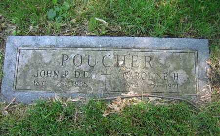 POUCHER, CAROLINE - Douglas County, Nebraska | CAROLINE POUCHER - Nebraska Gravestone Photos