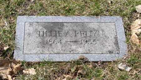 PRUYN, TILLIE A. - Douglas County, Nebraska | TILLIE A. PRUYN - Nebraska Gravestone Photos