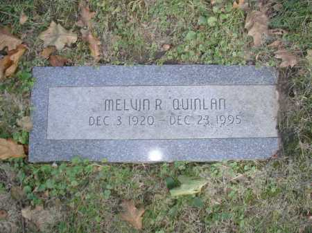 QUINLAN, MELVIN R - Douglas County, Nebraska | MELVIN R QUINLAN - Nebraska Gravestone Photos
