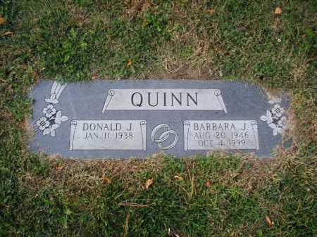 QUINN, BARBARA J - Douglas County, Nebraska | BARBARA J QUINN - Nebraska Gravestone Photos