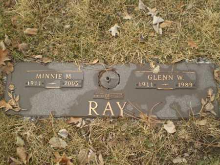 RAY, GLENN W - Douglas County, Nebraska | GLENN W RAY - Nebraska Gravestone Photos