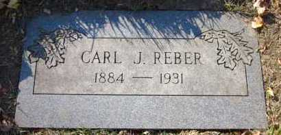 REBER, CARL J. - Douglas County, Nebraska | CARL J. REBER - Nebraska Gravestone Photos